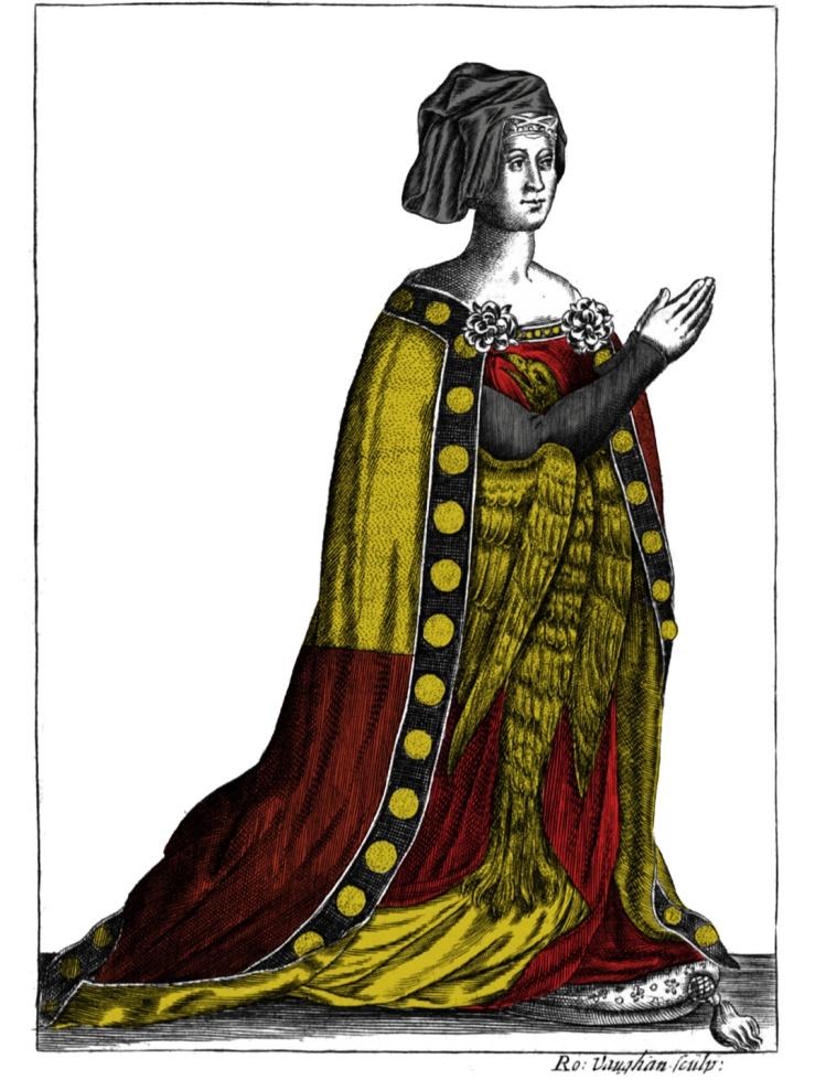 Portrait of an unknown Rochford lady