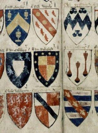 Sir John de Rochford II in Powell's Roll of arms