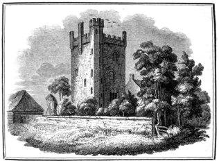 Rochford Tower in Fenne, c1821