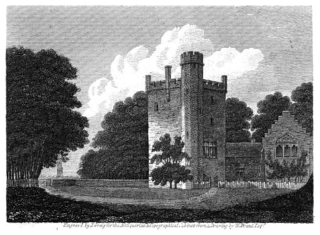Rochford Tower, Fenne, from The Antiquarian and Topographical Cabinet, volume 5