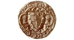The seal of Sayer de Rochford around 1330