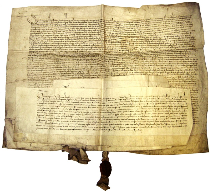 Sir Ralph Rochford III's last testament of 1439, will of 1440, and probate documents, in the Westminster Abbey Muniments Room, copyright the Dean and Chapter of Westminster