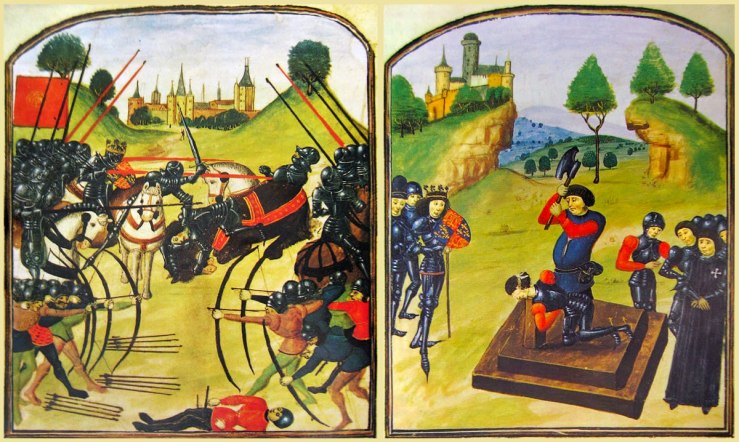 The battle of Tewkesbury, 4 May 1471, and the ensuing bloodbath
