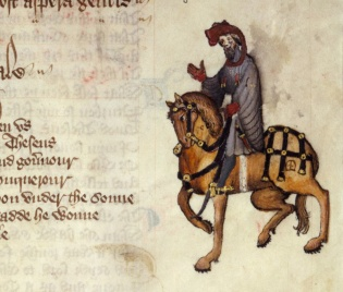 The knight in Chaucer's Canterbury Tales