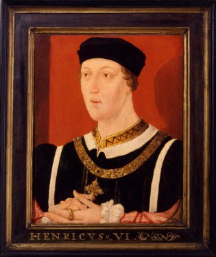 King Henry VI, by an unknown English artist, circa 1540. © National Portrait Gallery (CC BY-NC-ND 3.0).